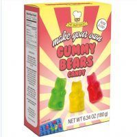 Box containing Gummy Bear kitchen kit