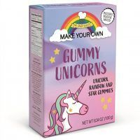 Make your own Gummy Unicorns kitchen kit box