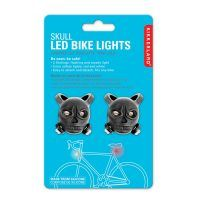 Skull LED Bike Lights (set of 2) - Three Boys Rock
