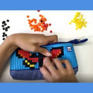 Pixie Crew design your own lego style pencil case